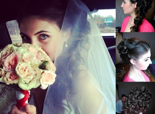 свадебные прически хотьково